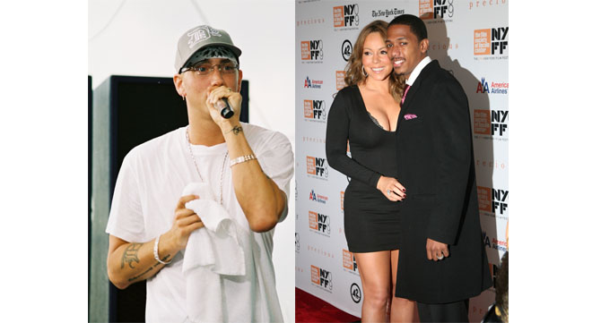 Eminem vs. Mariah Carey and Nick Cannon