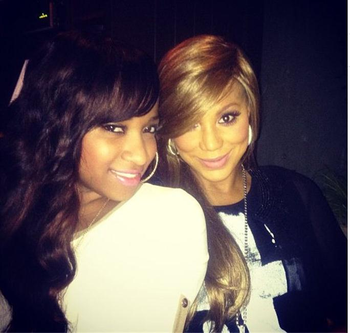 Tamar Braxton and Toya Wright