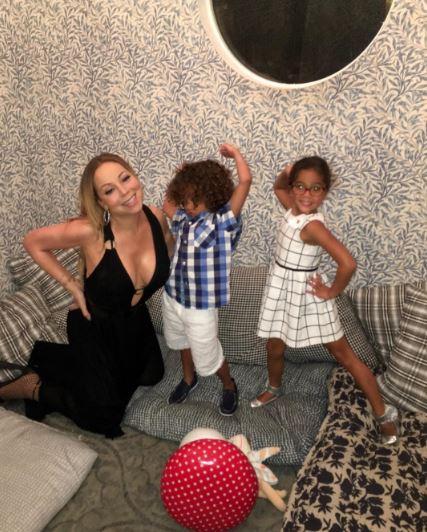 Mariah Carey and Dem Babies
