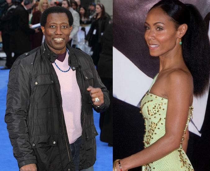 Jada Pinkett Smith & Wesley Snipes