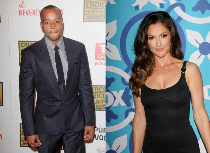 Minka Kelly & Donald Faison