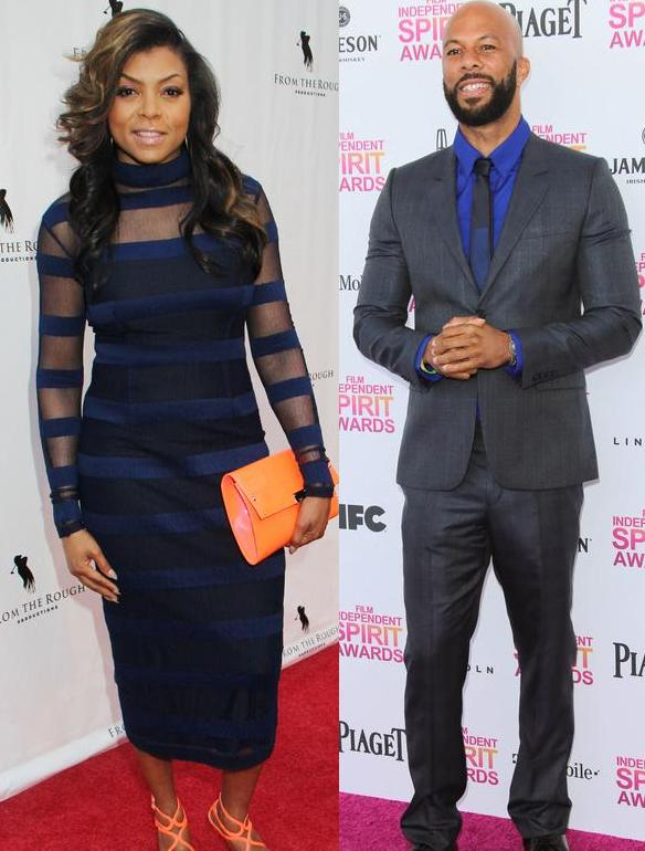 Taraji P. Henson & Common