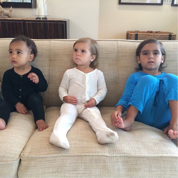 North West, Penelope and Mason Disick are all cousins.