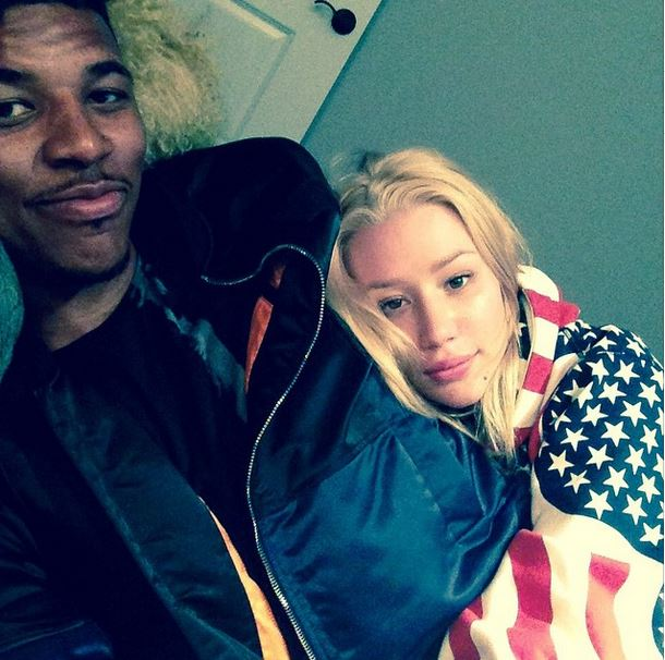 HONORABLE MENTION: Iggy Azaela is engaged to Los Angeles Laker Nick Young