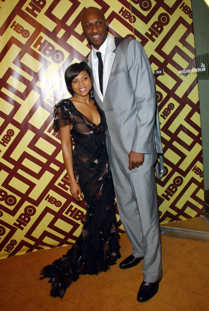Taraji P. Henson and Lamar Odom
