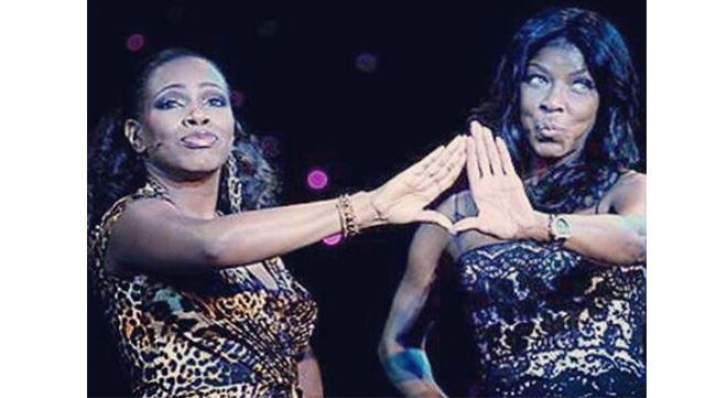 Sheryl Lee Ralph and Natalie Cole