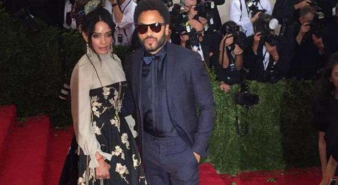 Lisa Bonet and Lenny Kravitz were once husband and wife.