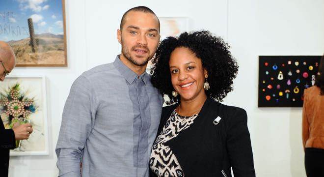 Jesse Williams & Aryn Drakelee-Williams