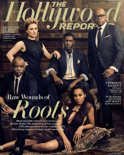 The cast of Roots