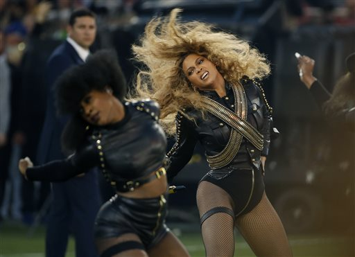 Beyonce at Super Bowl 50