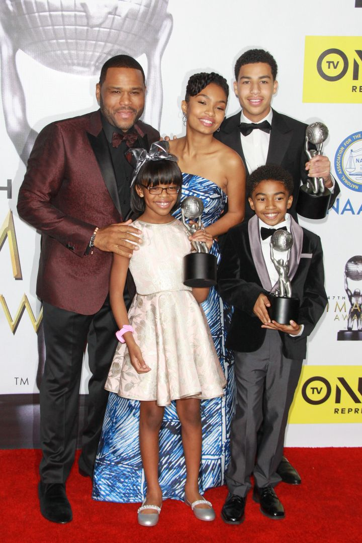 The cast of 'Blackish' win big at the NAACP Image Awards