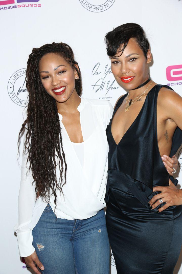 Meagan and La'Miyah Good