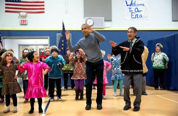 #ObamaAndKids
