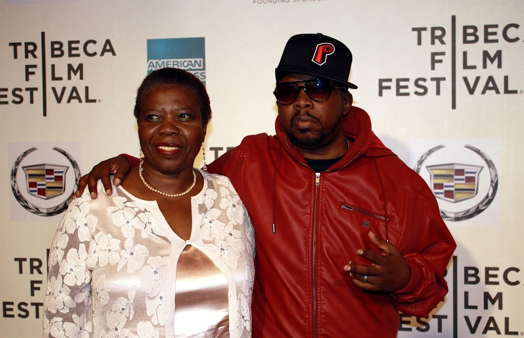 """04/27/2011 - Phife Dawg and Guest - 10th Annual Tribeca Film Festival - """"Beats, Rhymes & Life: The Travels of a Tribe Called Quest"""" Premiere - Arrivals - Tribeca Performing Arts Center - New York City, NY, USA - Keywords: Malik Issac Taylor, Tribe Called Quest, Q Tip, Phife Dawg, Tribeca Film Festival, Beats, Rhymes and Life Orientation: Portrait Face Count: 1 - False - Photo Credit: Hollie Jones / PR Photos - Contact (1-866-551-7827) - Portrait Face Count: 1"""