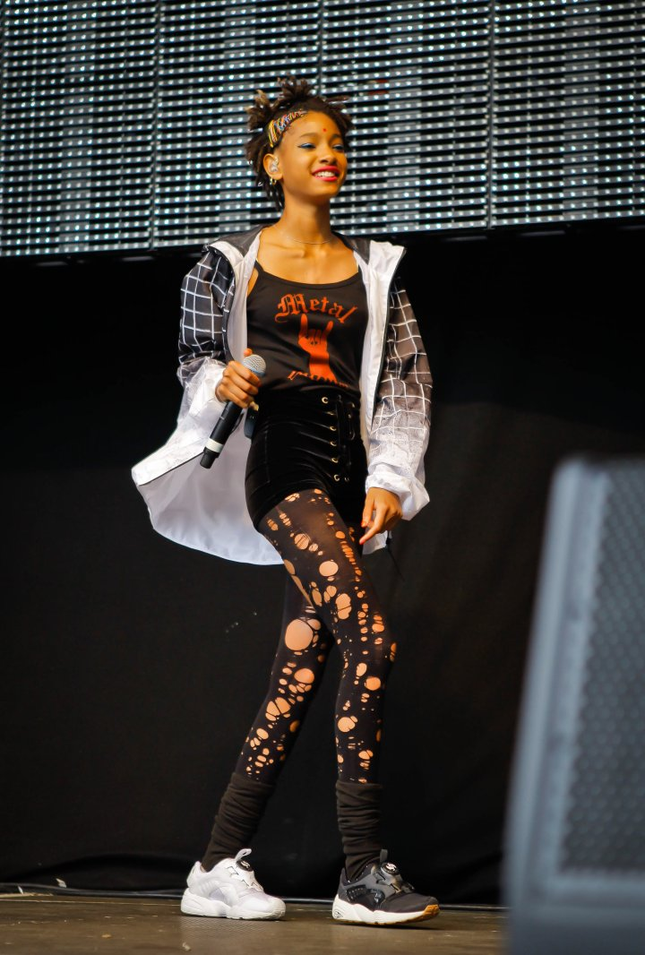 Willow Smith – age 15
