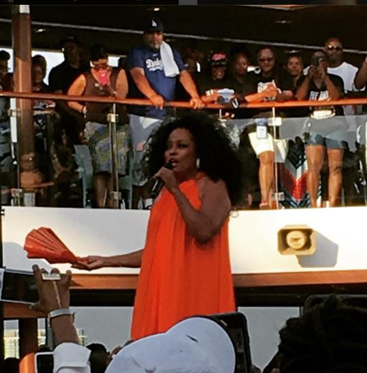 Diana Ross shut it down on the first day of #FV16
