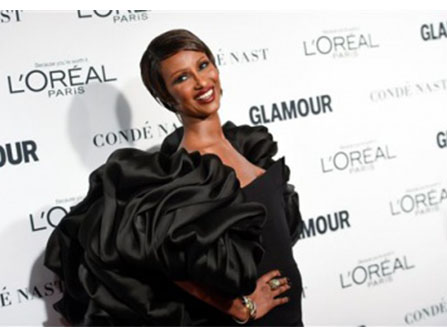 Iman is 60 and has two kids