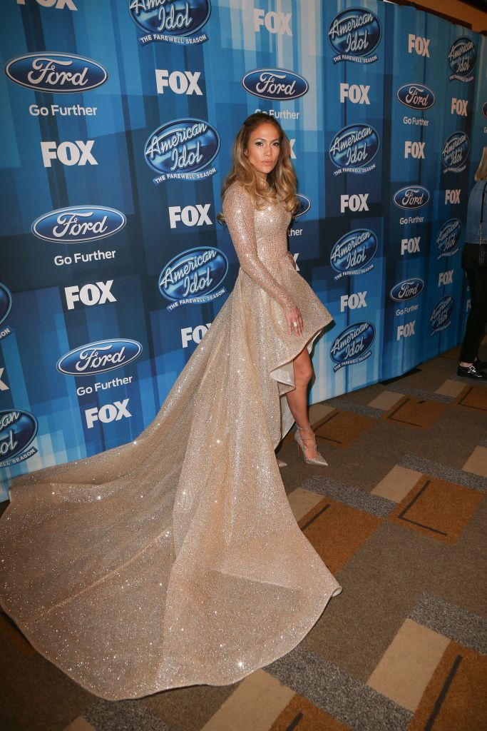 """04/07/2016 - Jennifer Lopez - FOX's """"American Idol"""" Series Finale - Arrivals - Dolby Theatre, 6801 Hollywood Boulevard - Hollywood, CA, USA - Keywords: Vertical, Portrait, Music, Television Show, Photography, Reality Television, Arts Culture and Entertainment, Attending, Celebrities, Celebrity, Person, People, Reality TV, Fox Network, FOX's """"American Idol"""" Finale For The Farewell Season, FOX's """"American Idol"""" Series Finale Arrivals, California Orientation: Portrait Face Count: 1 - False - Photo Credit: PRPhotos.com - Contact (1-866-551-7827) - Portrait Face Count: 1"""