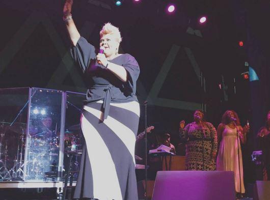 Tamela Mann at the Dennys Gospel Explosion