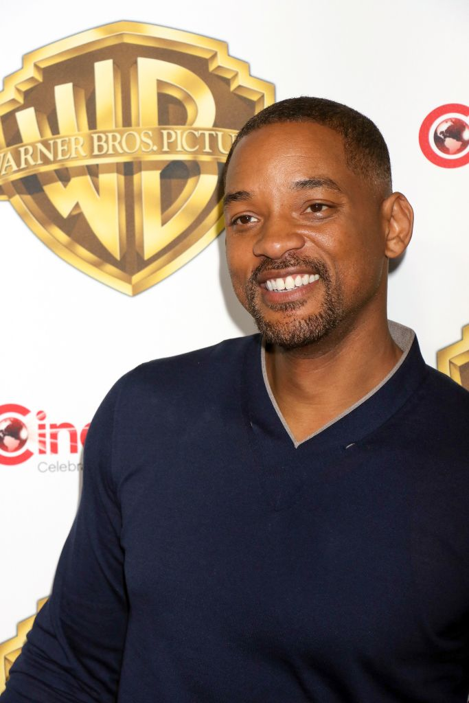 """04/12/2016 - Will Smith - CinemaCon 2016 - Warner Bros. Pictures """"The Big Picture"""" An Exclusive Presentation Highlighting the Summer of 2016 and Beyond - The Colosseum at Caesars Palace Hotel & Casino - Las Vegas, NV, USA - Keywords: Vertical, Red Carpet Event, Portrait, Photography, Film Industry, Arts Culture and Entertainment, Official, Attending, Person, People, Celebrities, Television, Convention, National Association of Theatre Owners, Cinema Con, Nevada Orientation: Portrait Face Count: 1 - False - Photo Credit: PRN / PRPhotos.com - Contact (1-866-551-7827) - Portrait Face Count: 1"""