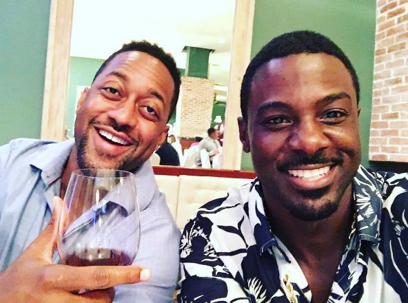 Me & the homie @jaleelwhite #RujohnFoundation Happy to be in Jamaica! Good times