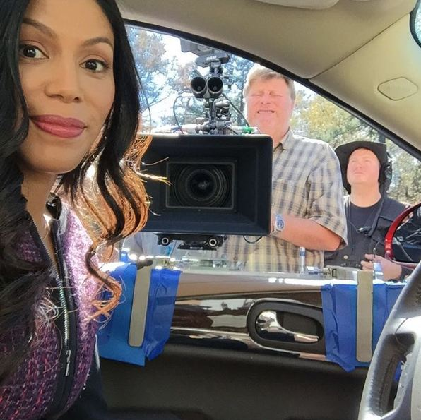 'Member that time I almost knocked a bajillion dollar camera off the car? Really? Yeah, me neither! #Greenleaf Episode 2 comin atcha!