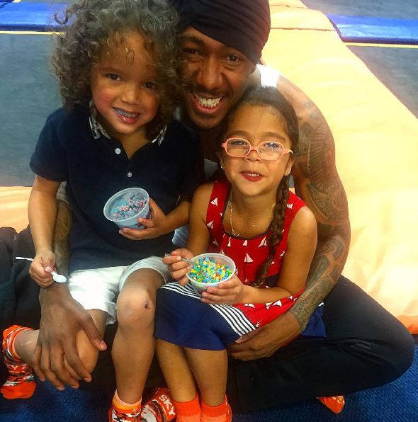 Sky Zone and Ice Cream! Best Fathers Day Ever!! Photo credit @mariahcarey