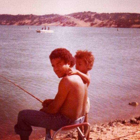 Happy Fathers Day Pops. U taught me how to be a man. Lessons of love, hard work & gratefulness. Sorry the fishing didn't stick. LOL. I Love U!
