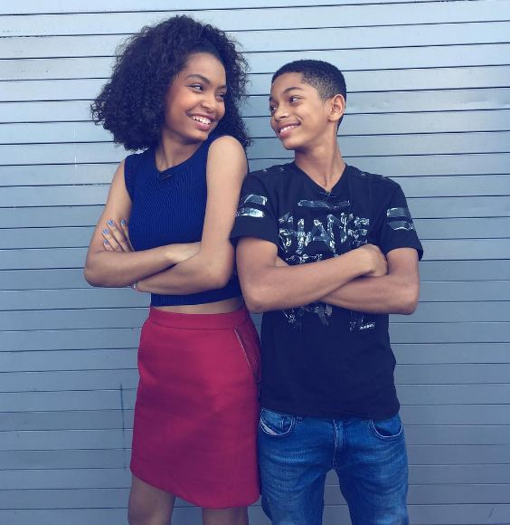My broski ( @sayeedshahidi ) and I are on Top 5 Live on @go90 at 5 (which is super duper close)! Make sure to tune in :) #UncleBuck #Blackish