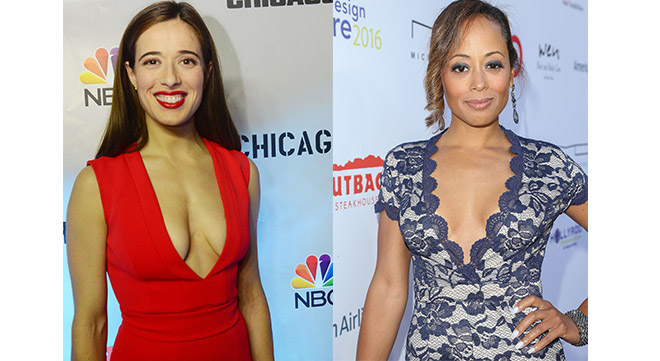 Marina Squerciati and Essence Atkins