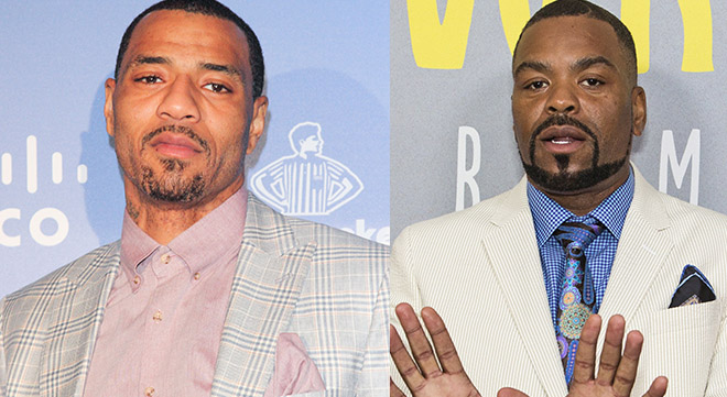 Kenyon Martin and Method Man