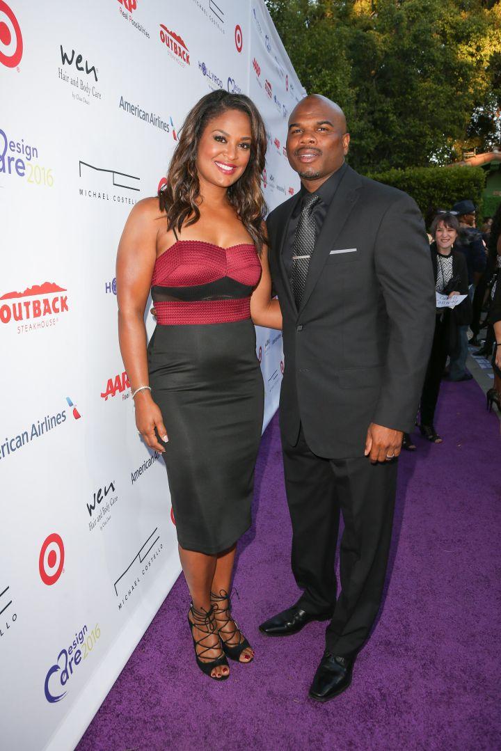 Laila Ali and husband Curtis