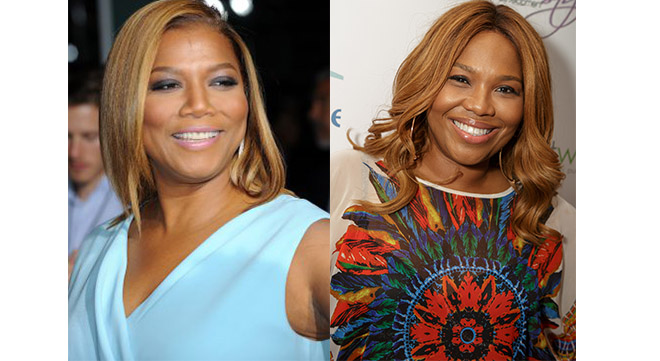 Queen Latifah and Mona Scott Young