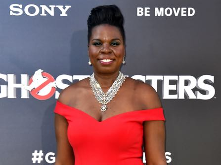 """Leslie Jones arrives at the Los Angeles premiere of """"Ghostbusters"""" at the TCL Chinese Theatre on Saturday, July 9, 2016. (Photo by Jordan Strauss/Invision/AP)"""