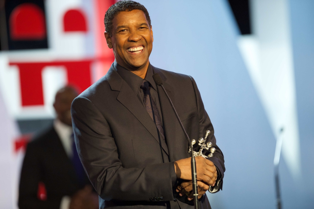 09/19/2014 - Denzel Washington - 62nd Annual San Sebastian International Film Festival - Opening Night Gala - Denzel Washington Receives Donostia Award - Kursaal Palace - Donostia-San Sebastian, Gipuzkoa, Spain - Keywords: 62FSSDZ, Ceremony, Receiving, Topics, Movie, Actor, Award, Film Industry, Arts Culture and Entertainment, Celebrities, Celebrity, Topix, Bestof, International Film Festival of San Sebastian, Festival de Cine de San Sebastian, Restrictions: **WORLDWIDE SYNDICATION RIGHTS EXCEPT SPAIN - NO SYNDICATION IN SPAIN** Orientation: Portrait Face Count: 1 - False - Photo Credit: Solarpix / PR Photos - Contact (1-866-551-7827) - Portrait Face Count: 1