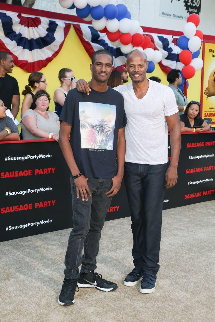 Keenan Ivory Wayans and son
