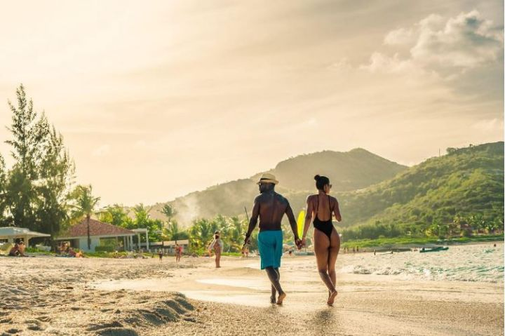 The Harts in St. Barts.
