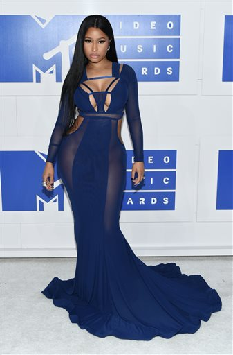 Nicki Minaj – the only rap chick on the Forbes list