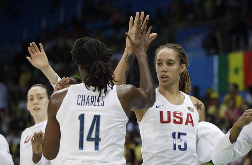 Tina Charles and Brittney Griner