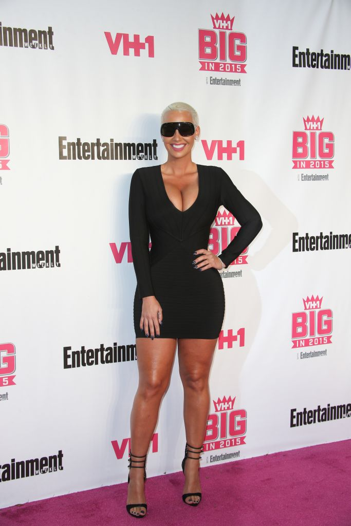 11/15/2015 - Amber Rose - VH1 Big in 2015 with Entertainment Weekly Awards - Arrivals - Pacific Design Center - West Hollywood, CA, USA - Keywords: Vertical, Portrait, Photography, Arts Culture and Entertainment, Attending, EW, People, Person, Celebrities, Celebrity, Annual Red Carpet Event, Los Angeles, California Orientation: Portrait Face Count: 1 - False - Photo Credit: PRPhotos.com - Contact (1-866-551-7827) - Portrait Face Count: 1