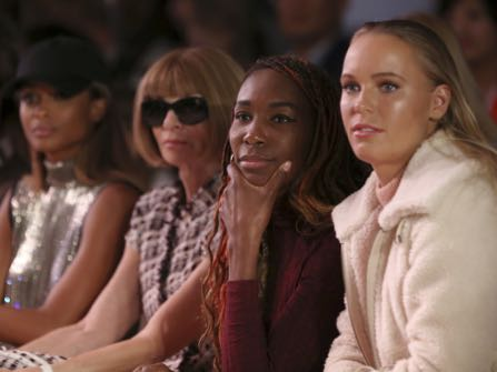 Ciara, Anna Wintour and Venus Williams