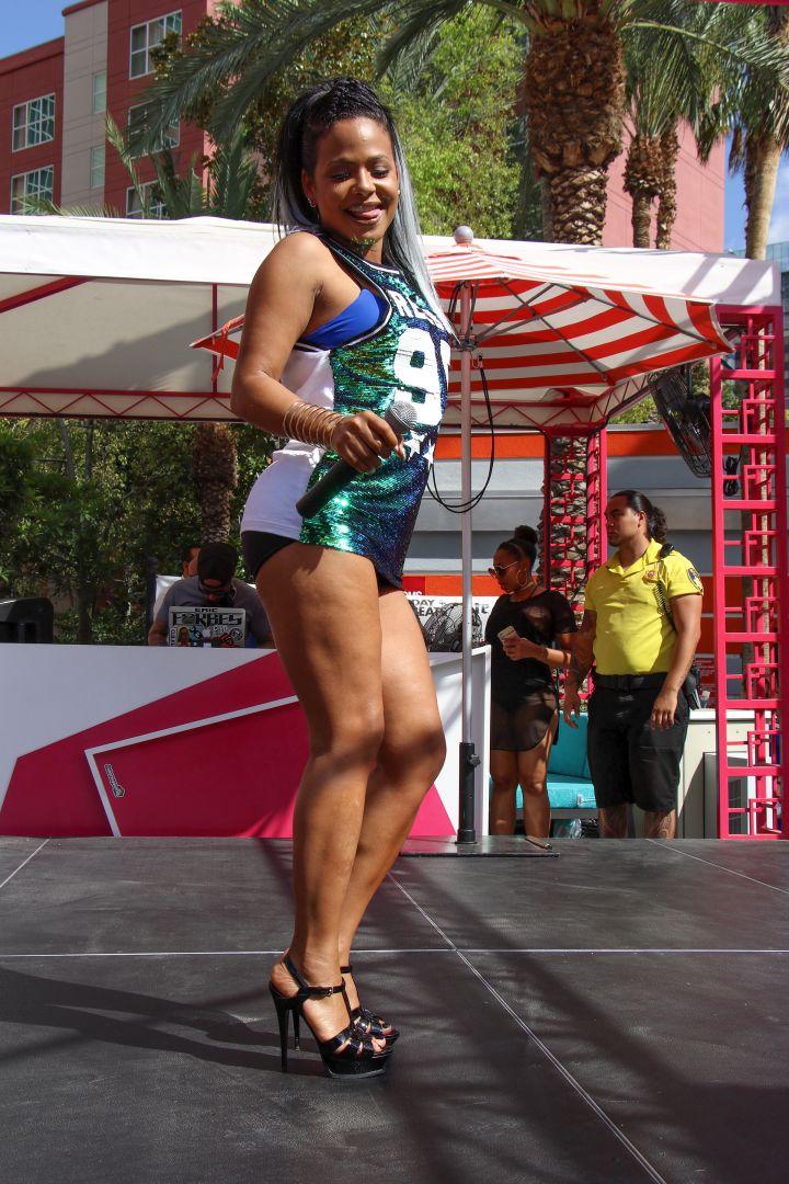 Christina Milian in Las Vegas