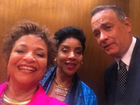 Debbie Allen, Phylicia Rashad and Tom Hanks