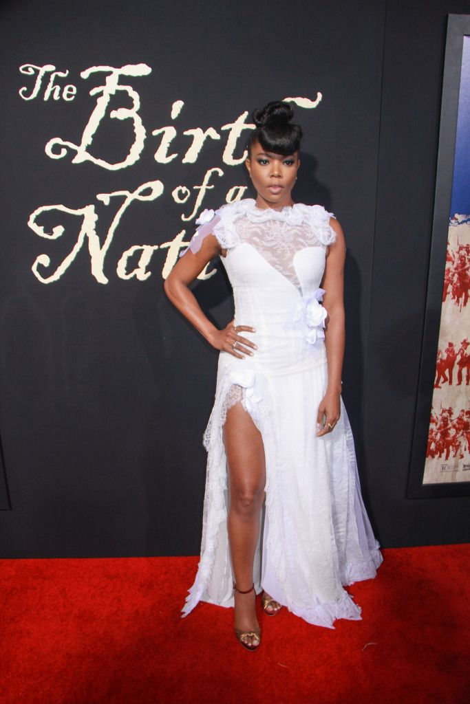 """09/21/2016 - Gabrielle Union - """"The Birth of a Nation"""" Los Angeles Premiere - Inside Arrivals - ArcLight Cinemas Cinerama Dome, 6360 Sunset Boulevard - Los Angeles, CA, USA - Keywords: Vertical, Fox Searchlight Pictures, Biography, Drama, Film Premiere, Movie Premiere, Person, People, Celebrity, Celebrities, Portrait, Photography, Red Carpet Event, Arts Culture and Entertainment, Attending, Hollywood, California Orientation: Portrait Face Count: 1 - False - Photo Credit: Izumi Hasegawa / PRPhotos.com - Contact (1-866-551-7827) - Portrait Face Count: 1"""