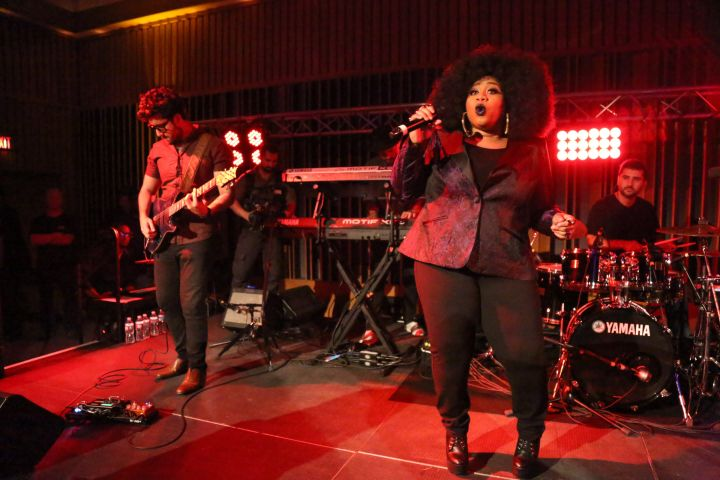 La'Porsha Renae at Motown Showcase