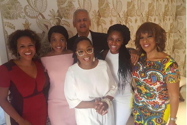 Oprah, Stedman Graham, Gayle King and their friends
