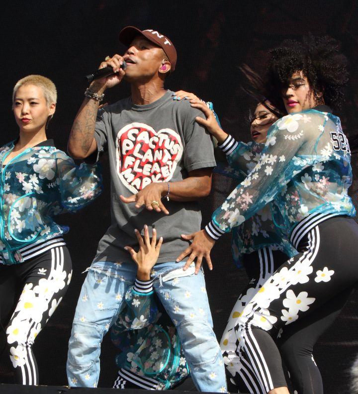 Pharrell at Barclaycard