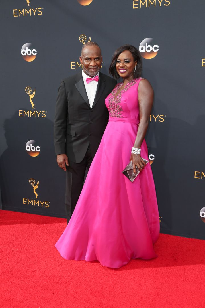 Viola Davis and husband Vernon