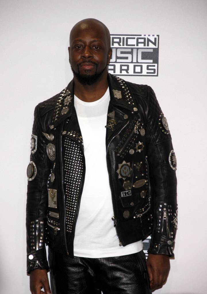 11/23/2014 - Wyclef Jean - 2014 American Music Awards - Press Room - Nokia Theatre L.A. Live - Los Angeles, CA, USA - Keywords:  Orientation: Portrait Face Count: 1 - False - Photo Credit: David Gabber / PRPhotos.com - Contact (1-866-551-7827) - Portrait Face Count: 1