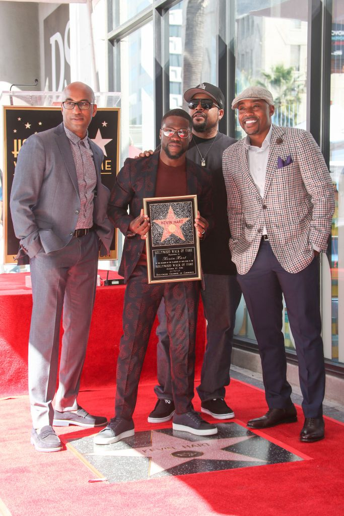 10/10/2016 - Tim Story, Ice Cube, Kevin Hart and Will Packer - Kevin Hart Honored with a Star on the Hollywood Walk of Fame - Hollywood Walk of Fame - Hollywood, CA, USA - Keywords: Vertical, American actor, comedian, writer, producer, film industry, movie, television, red carpet event, Ceremony, Person, People, Celebrity, Celebrities, WOF, HWOF, Photography, Photograph, Candid, Respect, Arts Culture and Entertainment, Attending, Topix, Bestof, Los Angeles, California Orientation: Portrait Face Count: 1 - False - Photo Credit: PRPhotos.com - Contact (1-866-551-7827) - Portrait Face Count: 1